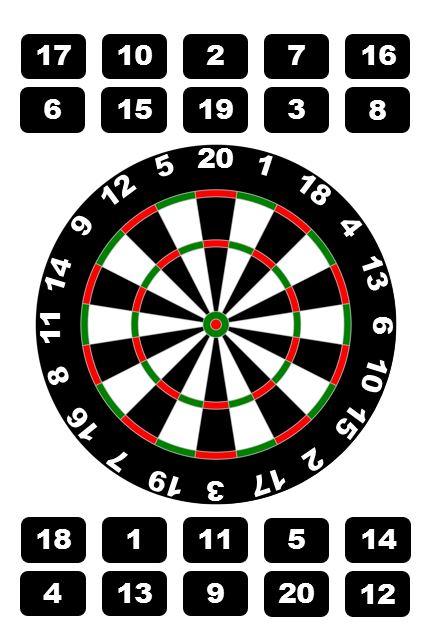 21TARGET (Dart Board)